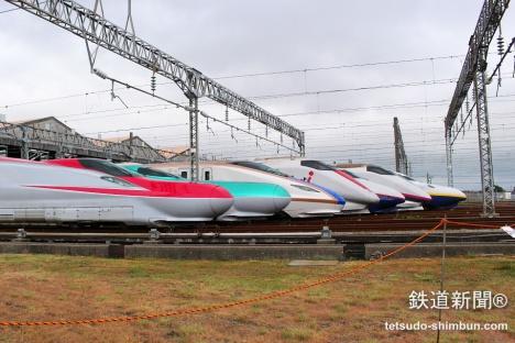 JR東日本の新幹線「E2~E7系」が...