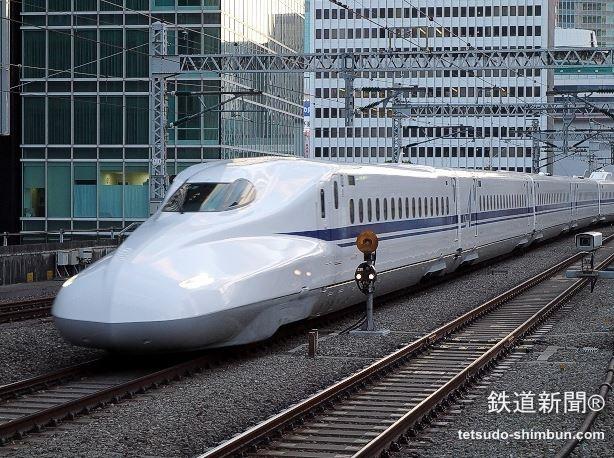 東海道新幹線「N700A」デビュー...