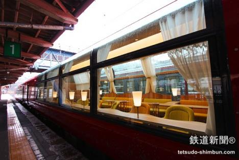 新潟県に展望レストラン列車「え...