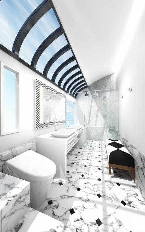 JR西日本 豪華列車 バスルーム
