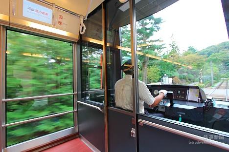 箱根登山鉄道 3000形 アレグラ 車窓