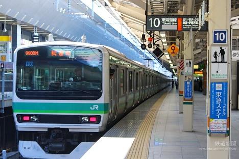 上野東京ライン 常磐線 東京駅