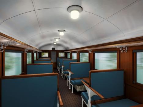 SLやまぐち 客車 オハ35
