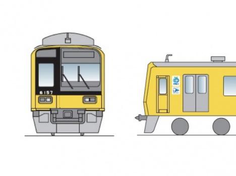 西武 黄色 6000系