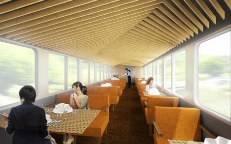 西武 観光列車 食堂車