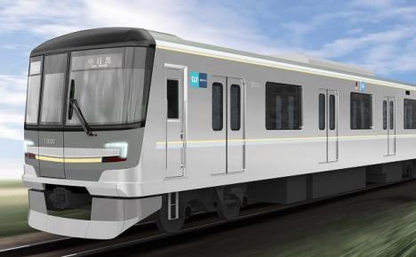 東京メトロ 日比谷線 新車 13000系