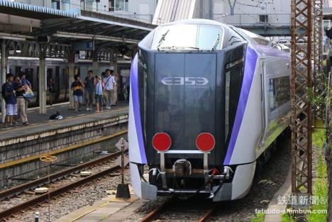 E353系 逗子駅