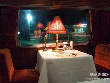 JR北海道 北斗星 食堂車 グランシャリオ