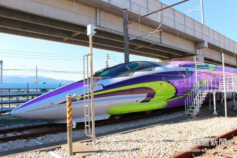 エヴァ新幹線「500 TYPE EVA」