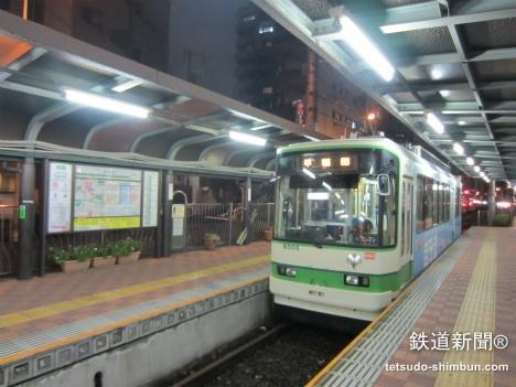 都電早稲田駅