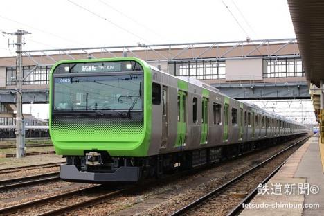 E235系 新津駅