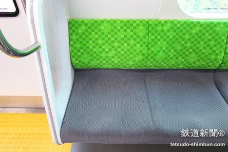 山手線 新型車両 E235系 座席