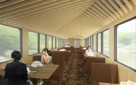 「52席の至福」4号車(オープンダイニング)イメージ