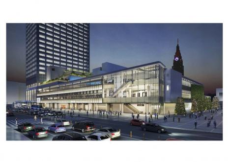 新宿駅南口の新しい交通ターミナル「バスタ新宿」のイメージ