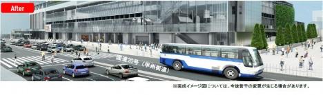 新宿駅 バスターミナル 工事 バスタ新宿
