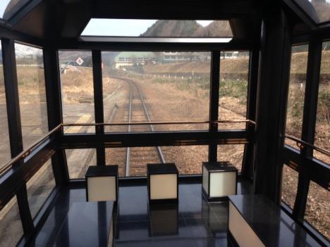 「伊豆・箱根ものがたり」7号車グリーン車専用パノラマ展望室(イメージ)