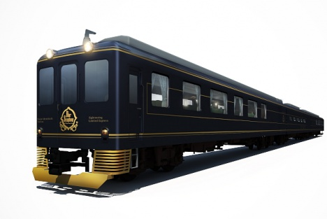 近鉄南大阪線・吉野線の観光列車「青の交響曲(シンフォニー)」外装イメージ