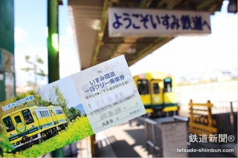 いすみ鉄道の一日フリー乗車券