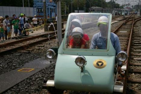 作業車(ATカート)の体験乗車