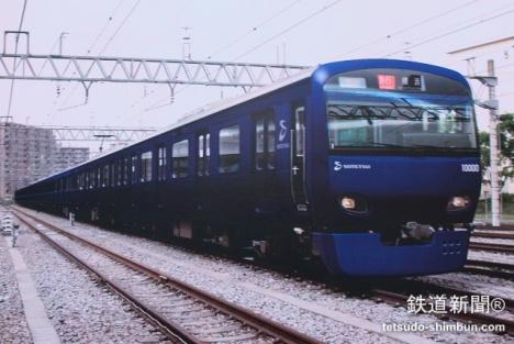 「10000系」リニューアル車両イメージ
