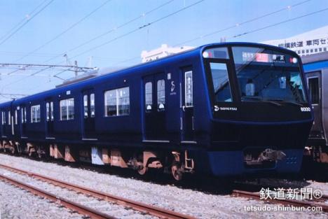 「8000系」リニューアル車両イメージ