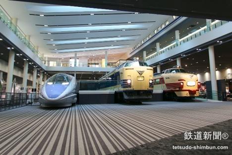 京都鉄道博物館 500系・581系・489系