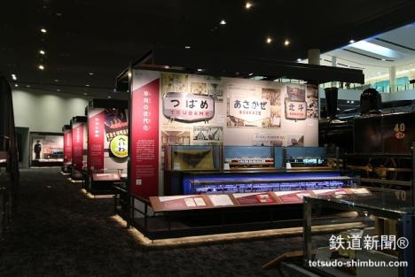 京都鉄道博物館「鉄道のあゆみ」