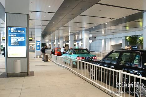 バスタ新宿のタクシー乗り場