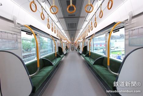 大阪環状線 新車 323系 車内