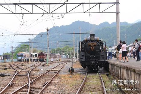 三峰口駅 SLパレオエクスプレス