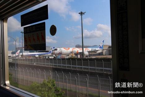 芝山鉄道 成田空港 飛行機