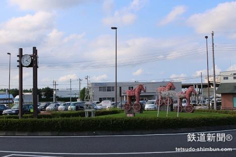 芝山千代田駅 ロータリー