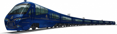 観光列車「THE ROYAL EXPRESS ザ ロイヤル エクスプレス」外観イメージ