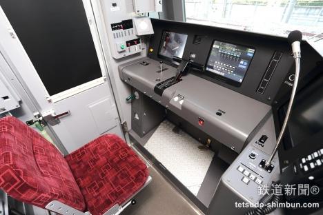 東武鉄道70000系の運転台
