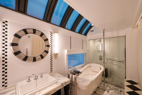 トワイライトエクスプレス瑞風「スイート」浴室