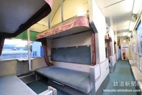 ブルートレインあけぼの B開放二段寝台