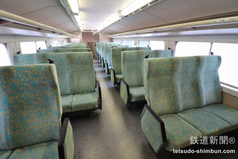 E1系2階席