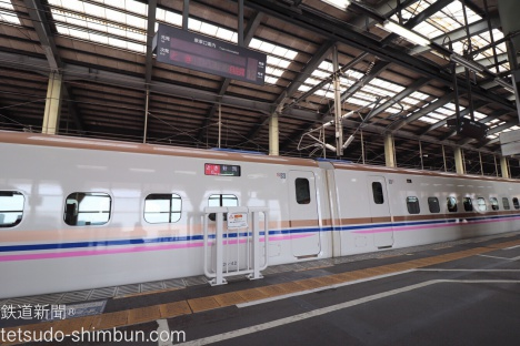 E7系 上越新幹線 とき色