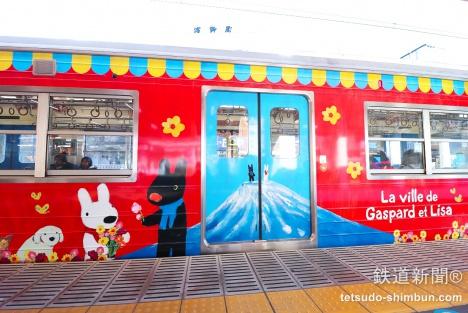 リサとガスパール電車