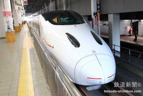 九州新幹線 800系 赤い いだてん