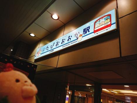 たぴおおおか駅!!