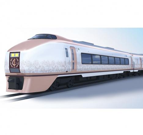 観光列車「IZU CRAILE 伊豆クレイル」イメージ