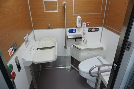 西武40000系 トイレ