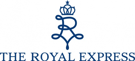 「THE ROYAL EXPRESS ザ ロイヤル エクスプレス」ロゴ
