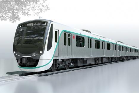 東急田園都市線の新型車両「2020系」外観イメージ
