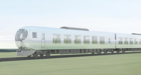 西武鉄道新型特急の外観イメージ1