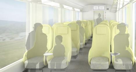 西武鉄道 新型特急の車内イメージ1