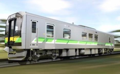 JR北海道の新型気動車「H100形」DECMOイメージ