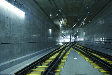 模擬トンネル