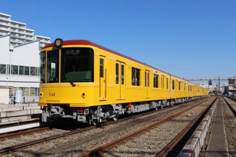 イベント専用列車に使用する銀座線1000系特別仕様車